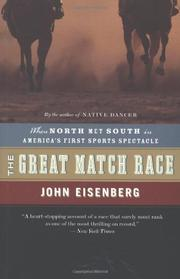 THE GREAT MATCH RACE by John Eisenberg