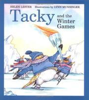 TACKY AND THE WINTER GAMES by Helen Lester