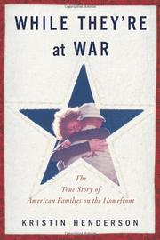 Book Cover for WHILE THEY'RE AT WAR