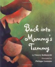 Cover art for BACK INTO MOMMY'S TUMMY