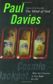 COSMIC JACKPOT by Paul Davies