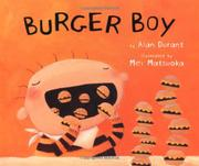 Book Cover for BURGER BOY