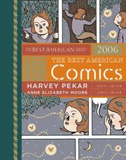 THE BEST AMERICAN COMICS 2006 by Harvey Pekar