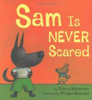 Cover art for SAM IS NEVER SCARED