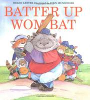 Book Cover for BATTER UP WOMBAT
