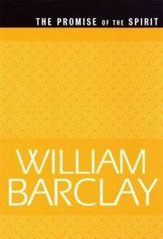THE PROMISE OF THE SPIRIT by William Barclay