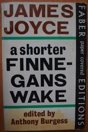 A SHORTER FINNEGANS WAKE by Anthony Burgess