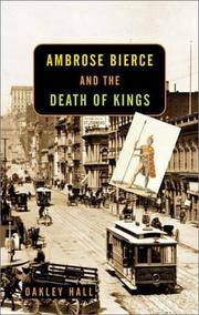 Cover art for AMBROSE BIERCE AND THE DEATH OF KINGS