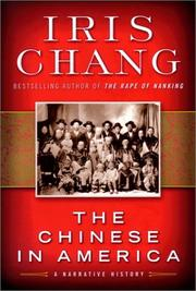 Cover art for THE CHINESE IN AMERICA