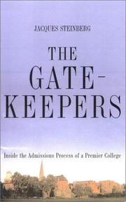Book Cover for THE GATEKEEPERS