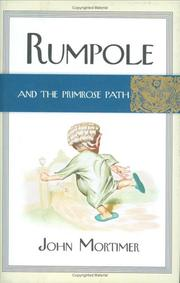 Cover art for RUMPOLE AND THE PRIMROSE PATH