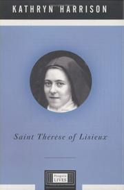 Cover art for SAINT THÉRÈSE OF LISIEUX