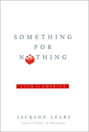 Cover art for SOMETHING FOR NOTHING