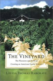 THE VINEYARD by Louisa Thomas Hargrave
