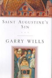 Cover art for SAINT AUGUSTINE'S SIN