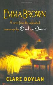 Cover art for EMMA BROWN