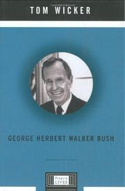 Cover art for GEORGE HERBERT WALKER BUSH