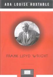 Cover art for FRANK LLOYD WRIGHT