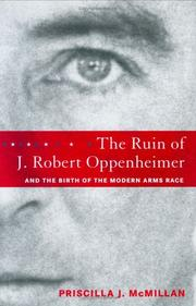 Cover art for THE RUIN OF J. ROBERT OPPENHEIMER