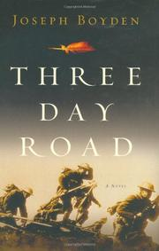 Book Cover for THREE DAY ROAD