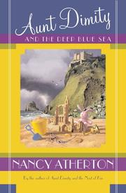 Cover art for AUNT DIMITY AND THE DEEP BLUE SEA