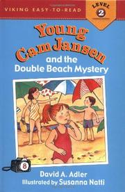 Cover art for YOUNG CAM JANSEN AND THE DOUBLE BEACH MYSTERY
