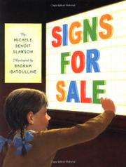 SIGNS FOR SALE by Michele Benoit Slawson