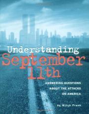 UNDERSTANDING SEPTEMBER 11TH by Mitch Frank