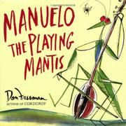 Book Cover for MANUELO THE PLAYING MANTIS