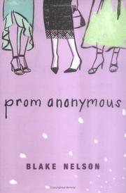 Cover art for PROM ANONYMOUS