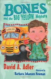 Cover art for BONES AND THE BIG YELLOW MYSTERY #1
