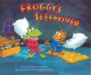 Cover art for FROGGY'S SLEEPOVER