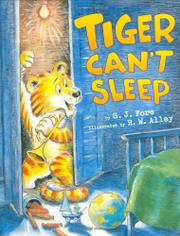 Cover art for TIGER CAN'T SLEEP