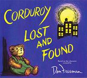 Cover art for CORDUROY LOST AND FOUND