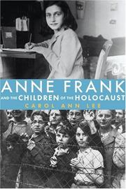 Cover art for ANNE FRANK AND THE CHILDREN OF THE HOLOCAUST
