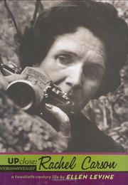 Book Cover for RACHEL CARSON