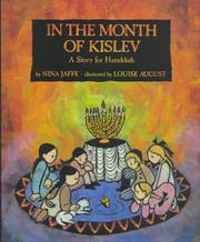 IN THE MONTH OF KISLEV by Nina Jaffe