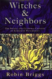 WITCHES AND NEIGHBORS by Robin Briggs