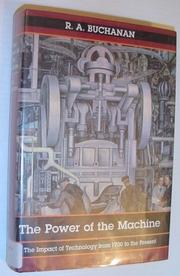 THE POWER OF THE MACHINE by R.A. Buchanan