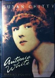 ANTONIA WHITE by Susan Chitty