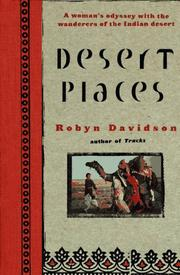 Cover art for DESERT PLACES