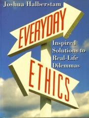 EVERYDAY ETHICS by Joshua Halberstam