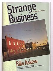 STRANGE BUSINESS by Rilla Askew