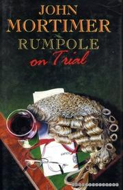 Cover art for RUMPOLE ON TRIAL
