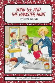 Book Cover for SONG LEE AND THE HAMSTER HUNT