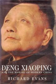DENG XIAOPING by Richard Evans