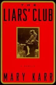 Cover art for THE LIARS' CLUB