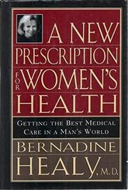Book Cover for A NEW PRESCRIPTION FOR WOMEN'S HEALTH
