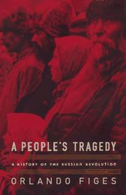 Cover art for A PEOPLE'S TRAGEDY