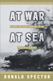 AT WAR AT SEA by Ronald H. Spector